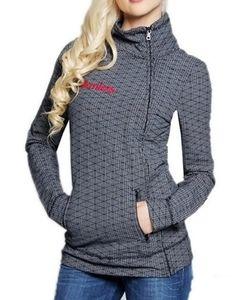 So nice Crisscross Fleece Funnel-Neck Jacket